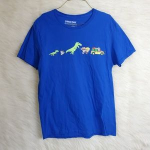 Loot Crate Jurassic Park Graphic T-Shirt Dinosaurs